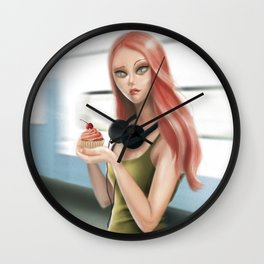 I'm afraid I don't like it (Disconnected) Wall Clock