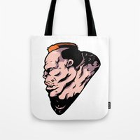 xmen Tote Bags featuring x6 by jason st paul