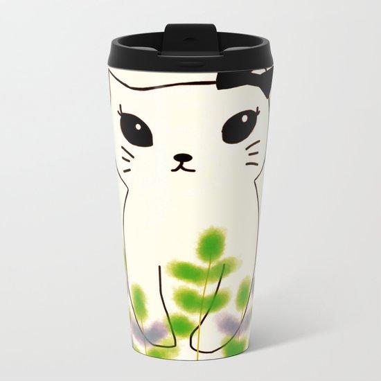 cat-180 Metal Travel Mug