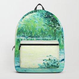 Van Gogh : Park in Asnieres Backpack