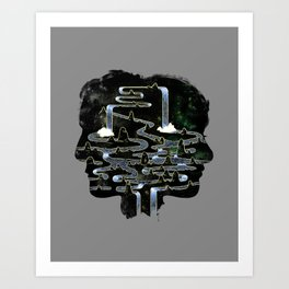 Mine is Yours Art Print