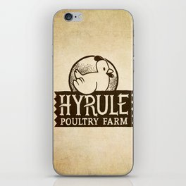 Hyrule Poultry Farms iPhone Skin