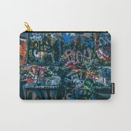 A graffiti wall in  Szeged, Hungary Carry-All Pouch