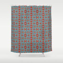 Ironwork - Rust 2 Shower Curtain