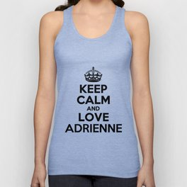 Keep Calm and Love ADRIENNE Unisex Tank Top