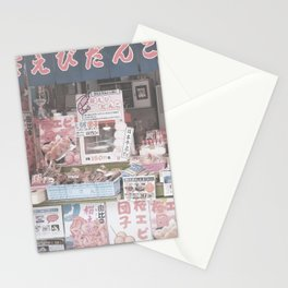 Food Store Stationery Cards