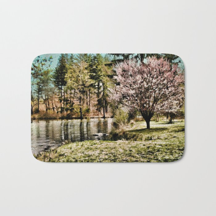 Spring Time In New England Bath Mat