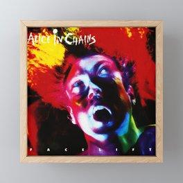 alice in chains facelift 2021 Framed Mini Art Print
