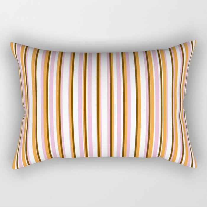 Cool Stripes Rectangular Pillow