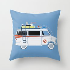 Ecto Van-1 Throw Pillow