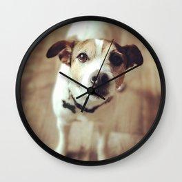 Dog by Jacob Curtis Wall Clock