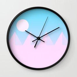 Desert Sandscape Wall Clock