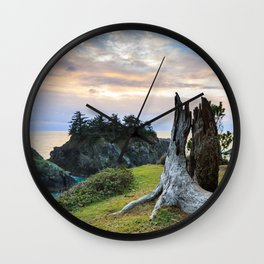 Lonely Tree Stump Wall Clock