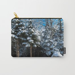 Beautiful Snow Carry-All Pouch
