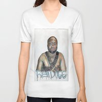youtube V-neck T-shirts featuring YouTube Sensation by Reh Dogg Gallery
