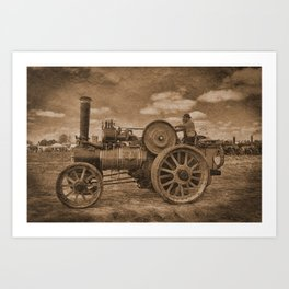 Vintage Jem General Purpose Engine Art Print