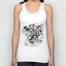 Monster RoadTrip! Unisex Tank Top
