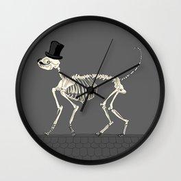 Señor conejo Wall Clock