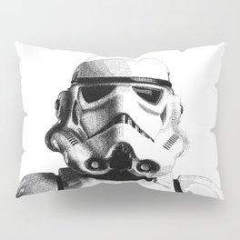 Stormtrooper Dotwork - Pointillism Fan Artwork Pillow Sham