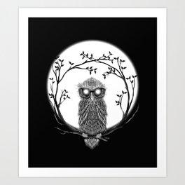 SPECTAC-OWL Art Print