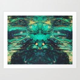 give me space. Art Print