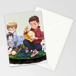 Final Fantasy 15 Boys Stationery Cards