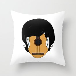 Music cures meteoropathy Throw Pillow