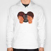 tegan and sara Hoodies featuring Tegan and Sara by Cas.