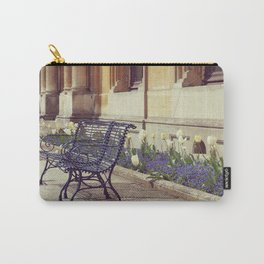 Old Benches Carry-All Pouch