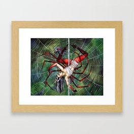 Pole Creatures: Jorogumo Framed Art Print