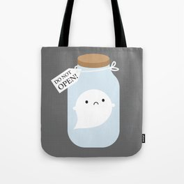 Trapped Little Ghost Tote Bag