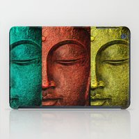 buddha iPad Cases featuring buddha by mark ashkenazi