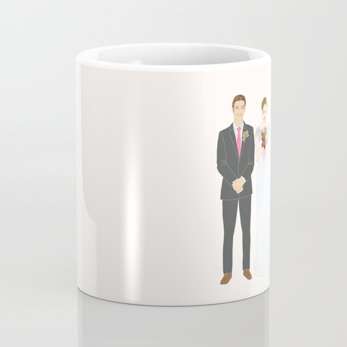This $75 Custom Portrait Is the Most Thoughtful Wedding Gift Ever Coffee Mug