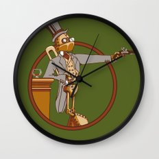 The Windup Duelist Wall Clock
