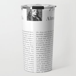 Wit & Wisdom from Poor Richard's Almanack Travel Mug