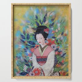 always a maiko Serving Tray