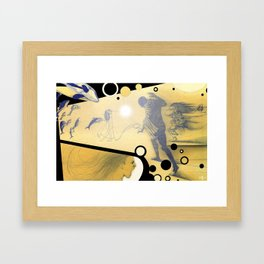 The Determined  Framed Art Print
