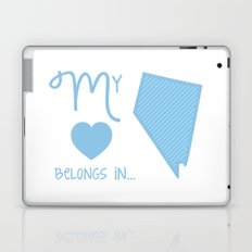 My Heart Belongs in Nevada Laptop & iPad Skin