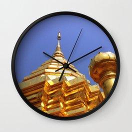 Doi Suthep Stupa Wall Clock