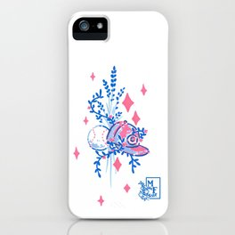 Field of Diamonds - Studies in Pink & Blue iPhone Case