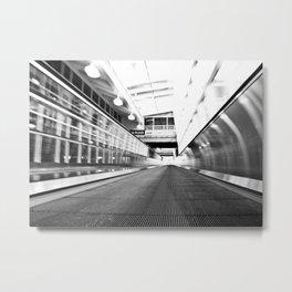 Forward Motion Metal Print