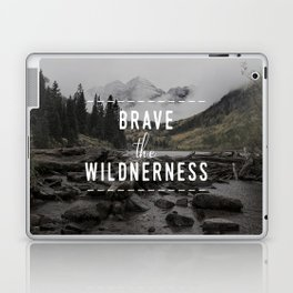 Brave the Wilderness Laptop & iPad Skin