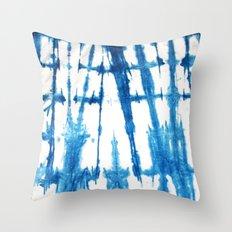 Shibori Lines Throw Pillow
