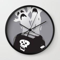 Ghost Toast Wall Clock
