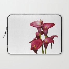 Purple Calla Lilies Laptop Sleeve