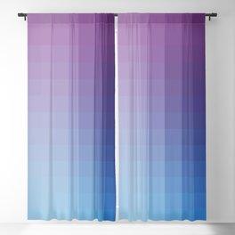 Lumen, Blue and Purple Glow Blackout Curtain