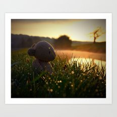 Morning Dew Art Print