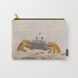 Portrait of a Ghost Crab Carry-All Pouch