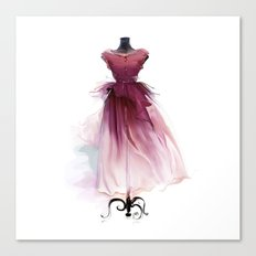Beautiful dress Canvas Print