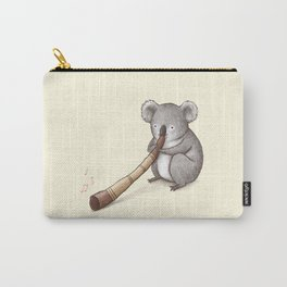Koala Playing the Didgeridoo Carry-All Pouch